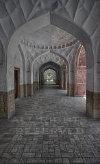 Corridors - Jahangir's Mausoleum (z) Tags: pakistan work carved tomb mausoleum gateway marble pietra lahore dura shahdara jahangir widescape