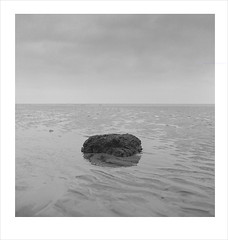 ripples (Nick Moys) Tags: beach rock sand norfolk ilfordhp5 ripples hunstanton mamiyac220 55mmlens 320asa moerschfinol
