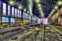 Engine shed (J Tys) Tags: canon smoke hdr grosmont nymr longexposer thebestofhdr hdrterrorist