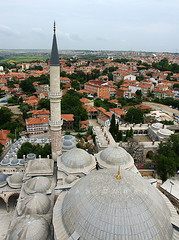 3 Şerefeli Cami Minaresinden (Sinan Doğan) Tags: edirne minareden edirnecamileri 3şerefelicami turkey türkiye cami mosque edirnegezilecekyerler edirnegezi edirnefotoğrafları