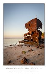 HMAS Gayundah-5 (The Laggard (Ralph McConaghy)) Tags: seascape beach shipwreck woodypoint gayundah