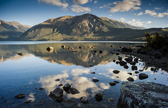 Lake Rotoiti Reflection (DarrynSantich) Tags: newzealand lake mountains reflections nikon nz southisland lakerotoiti nelsonlakes starnaud d700