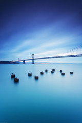 Blue Morning | San Francisco, CA (Taha Elraaid) Tags: ca morning blue usa sunrise canon photography san francisco baybridge taha canoneos5dmarkiii eos5dmarkiii elraaid tahaelraaid