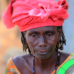 Senegal: femme peule (claude gourlay) Tags: voyage africa trip travel portrait people face portraits african traditional tribal tribes afrika senegal tradition tribe ethnic tribo afrique ethnology tribu etnic peul afriquedelouest ethnie ethnies africanculture peuls claudegourlay