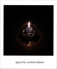 Apaga la luz, enciende el planeta