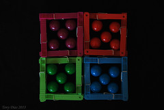 Colour coordination (Tony Dias 7) Tags: colour macro square balls pegs rond gumbals