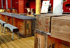 Mariehamn (fede_gen88) Tags: wood red bar suomi finland island restaurant islands wooden nikon boxes mariehamn land ahvenanmaa maarianhamina d5100