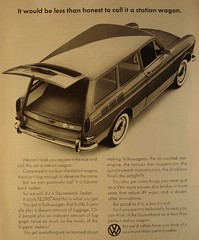 1966 Volkswagen Squarback Sedan Life Magazine Advertisement November 1965 (SenseiAlan) Tags: life november sedan magazine volkswagen 1966 advertisement 1965 squarback