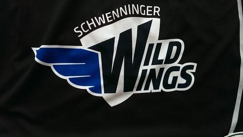 Schwenninger Wild Wings game worn jersey 2015/16 Dimitri Pätzold