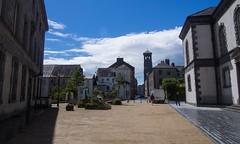 Waterford (Oz Wrigley-Pimley-McKerr) Tags: olympus epm2 2016 sky cloud clearsky bluesky waterford countywaterford cowaterford ireland republicofireland church