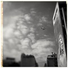 Beirut Impression # 24 (achimvoss) Tags: asia middleeast beirut airplane blackandwhite achimvoss monochrome lebanon leorientdejour olympus