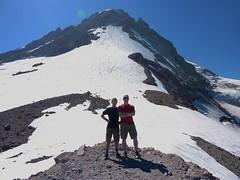 Garrett and Marc at top (mmcg6302) Tags: mount hood oregon cooper spur hiking