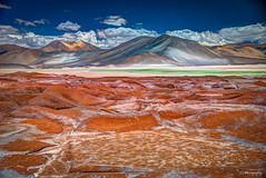 Yo canto por la lengua de los arrebatados, (.KiLTRo.) Tags: sanpedrodeatacama regindeantofagasta chile kiltro desert altiplano mountain sky clouds rocks geology water nature landscape atacama