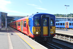 5905 (matty10120) Tags: train transport rail railway clas class 455 south west trains guildford