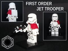 First Order Jet Trooper (OB1 KnoB) Tags: lego star wars mini minifig minifigure minifigurine fig figure figurine custom first order premier ordre jet trooper theforceawakens force awakens le rveil de la episode 7 vii episode7 episodevii flame flametrooper