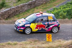 Opel Adam - Molinaro/Minor - WP15 Dhrontal - Rallye Deutschland 2016 (eschborn.photography) Tags: eschborn eschbornphotography adac wochenende super fun car rally dirt gravel asphalt tarmac round season world championship sideways gras track corner kurve driver wrc nikon d7100 28 locked rear brakes wheels tires rims bergauf haarnadel hairpin uphill