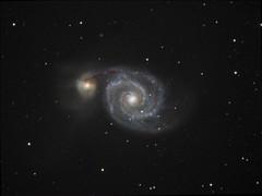 M51 (Tomek Mrugalski) Tags: galaxy m51 messier 51 astrometrydotnet:id=nova1715016 astrometrydotnet:status=solved