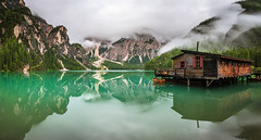 Pragser Wildsee (naturemomentsphotography) Tags: dolomiten pragserwildsee naturemomentscom italy italien sdtirol alpen see reflections spiegelung wolken lightroom fineartphotography