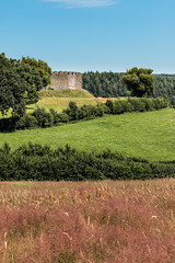 Restormel Castle (Keith in Exeter) Tags: restormel castle landscape rgb primary colours grass field fort fortress outdoor lostwithiel cornwall england