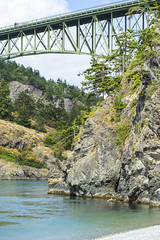 deception over pass (Michael Dees) Tags: water nature pnw pnwonderland washington landscpa landscape editorial 35mm digitial nikon color theory deception pass upper left oregon documentary