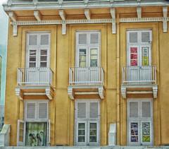 Windows, shutters and balconies (boeckli) Tags: singapore windows fenster fensterlden shutters textures texturen windowwednesdays newwallwednesday kerstinfrank googlenik dwwg