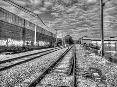 (mahler9) Tags: mahler9 jaym graffiti wall track railroad bw blackandwhite blackwhite monochrome september 2014 cloud belmont massachusetts