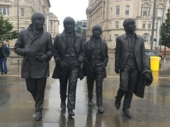 Liverpool trip (Elysia in Wonderland) Tags: beatles statue liverpool albert dock john lennon paul mccartney george harrson ringo starr