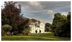 Summer daze (Paul.Y-D) Tags: nationaltrust saltramhouse plymouth lawns gardens deckchairs tress clouds sky shadows