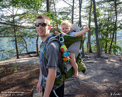 New Adventures- August 27, 2016 (zachary.locks) Tags: adventures ag backpack bag carrier cy365 diamond endless first gorge hiking jack kid new osprey pack plus poco point river son time trail wall westvirginia wv zlocks