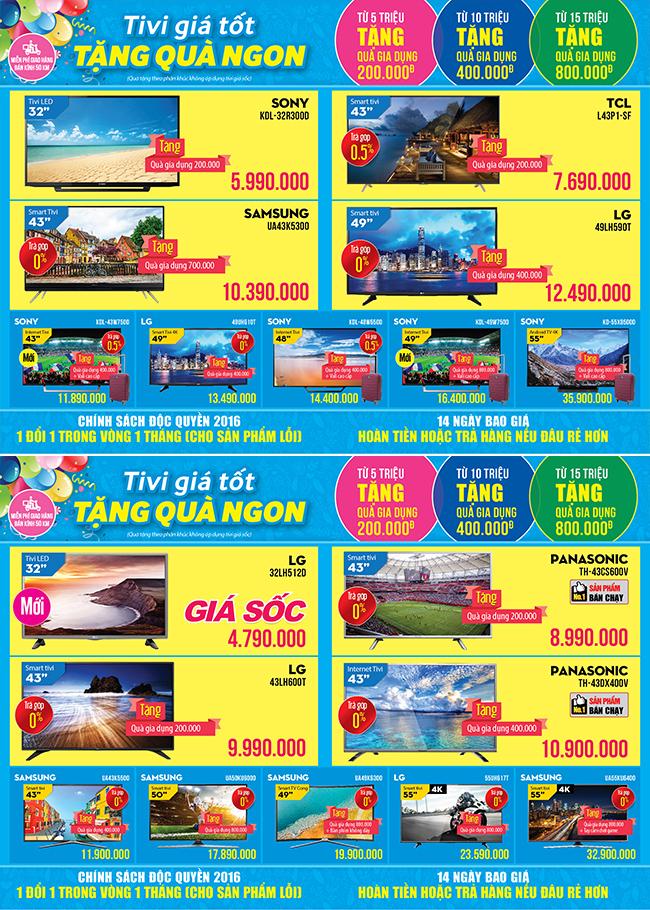 Khai trương siêu thị Điện máy XANH Nguyễn Oanh, Gò Vấp
