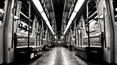 The returned voice into the Metro (Amr Tawwab) Tags: tawwab metro inside indoor splendid blend blackandwhite blackwhite white bw popular mylens myeye myown mywork mine photo ph photography photographing mobilegraphy mobilgraphy mob samsung eg egyption egypt egyptian cairo doors empty noone highcontrast clear urban metal