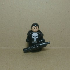 The Punisher [TV series] (Vladislav Pavlovich) Tags: lego custom minifigure punisher marvel netflix daredevil