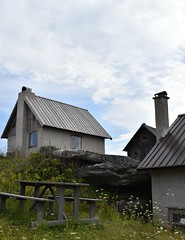 DSC_0055 (Lotsig) Tags: fiskelge village by gotland island  fisk fish fishing hus houses stugor cottages sommar summer stuga cottage