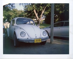 Polaroid ColorPack II test (Ilya.Bur) Tags: polaroid colorpack ii test beetle vw volkswagen veedub vintage car vehicle analog instant fuji fp100c