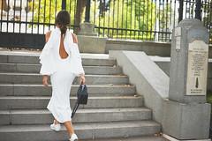 Cut out shoulders (Carlaestevez) Tags: blackdress cutoutshoulders sleeves zara studio dress look carlaestevez sneakers purificacingarciabag