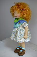 "MICHELA 20"" doll (Dearlittledoll) Tags: waldorf waldorfdoll artdoll dearlittledoll naturaldoll naturalfiberdoll naturaltoys"