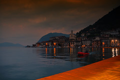 Montisola (giannipiras555) Tags: lago iseo christo ponte floating piers alba montisola lombardia chiesa barche