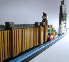 microscale London Thameside (JETfri) Tags: lego microscale london londoneye shard parliament mi6 bigben architecture