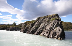 Rapids on Rio Serrano (talk2winik) Tags: chile summer landscape south torresdelpaine