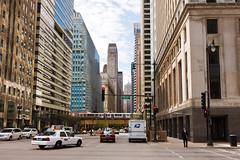 A Chicago scene (Nohab0100) Tags: street city cidade usa chicago avenida illinois el eua l lasalle rua avenue