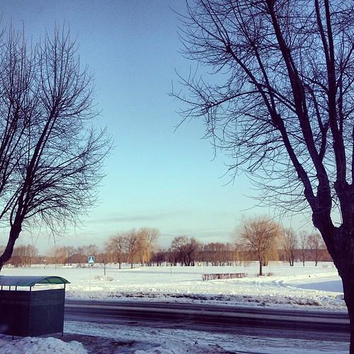 #belarus #mozyr #january #2013