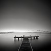 Empty (Torkn2U) Tags: sunset bw lake water night dark pier dusk empty jetty peaceful calm wharf macquarie minimalist tranquil emptiness lakemacquarie squidsink