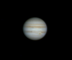 Jupiter on 15th Jan 2013 (Colin__Murray) Tags: red black solar webcam image space great belts spot astro system astrophotography planet astronomy jupiter jovian solarsystem grs wonderer LiverpoolASFavourites:year=2013 LiverpoolASFavourites:month=04