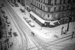 Qu'il neige ou qu'il vente, dimanche matin * Paris (sistereden2) Tags: olympus nb 20mm omd f17 em5