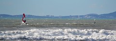 Wind Surfing (Diekk) Tags: sea espaa beach island mar spain nikon mediterraneo surf waves sailing wind playa mallorca palma olas isla navegar arenal baleares windsurf balearics mediterrnean d3100