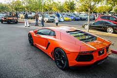 Cars and Coffee (Bernardo Macouzet Photography) Tags: california cars beach coffee newport lamborghini acura arancio irvine nsx v12 vorsteiner aventador lp7004