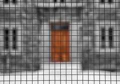 Where No Children Dared Trick or Treat (trekok, enjoying) Tags: color montreal qc selective fencefriday elementsorganizer