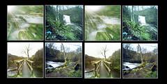 Lynn 3D (wheehamx) Tags: camera waterfall 3d cross pinhole lynn homemade dalry ayrshire