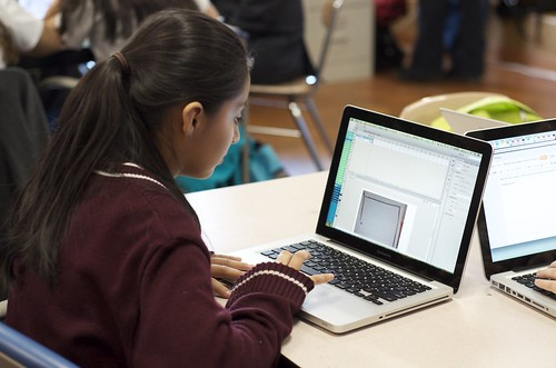 TYWLS Student Working by Globaloria, on Flickr