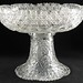 4020. American Brilliant Cut Glass Footed Punch Bowl
